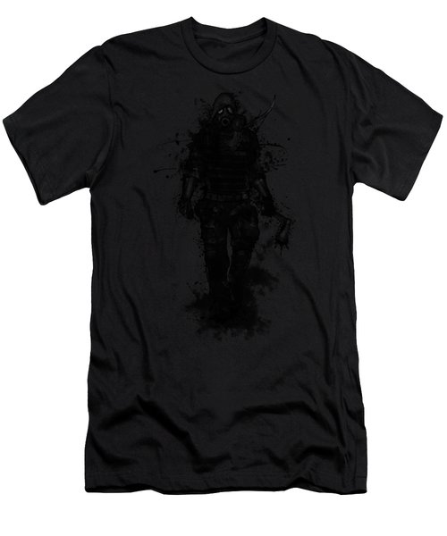 Apocalypse Hunter Men's T-Shirt (Athletic Fit)