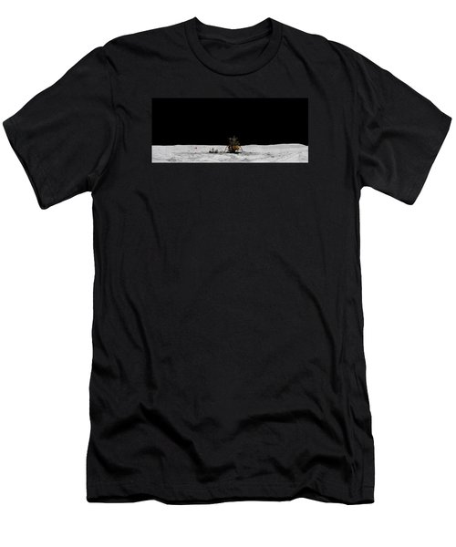 Apollo 16 Landing Site Panorama Men's T-Shirt (Athletic Fit)