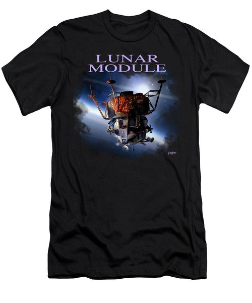 Apollo 9 Lm Men's T-Shirt (Athletic Fit)