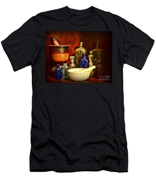 Apothecary - Tools Of The Pharmacist Men's T-Shirt (Slim Fit) by Paul Ward