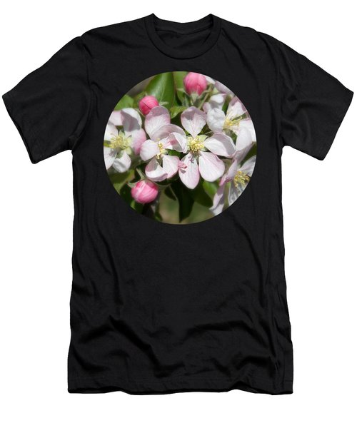 Apple Blossom Time Men's T-Shirt (Athletic Fit)