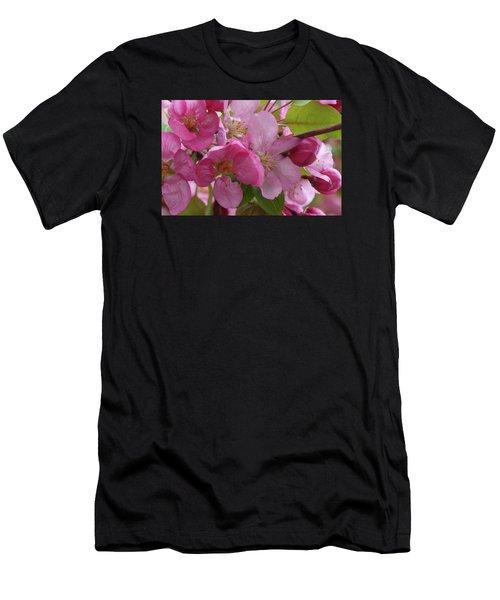 Apple Blossoms Men's T-Shirt (Athletic Fit)