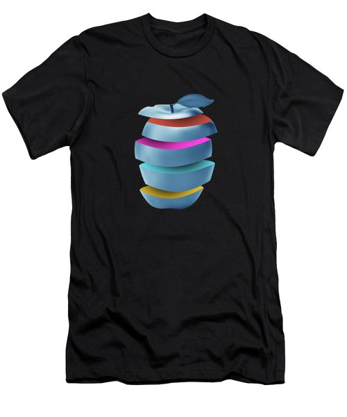 new York  apple Men's T-Shirt (Athletic Fit)