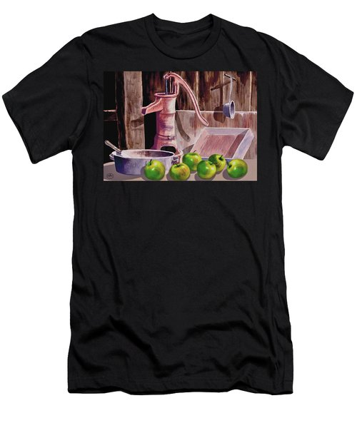 Apple Pie Men's T-Shirt (Slim Fit) by Ron Chambers