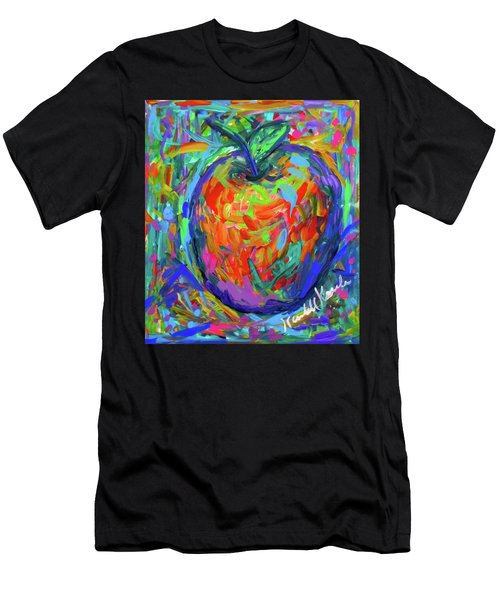 Apple Splash Men's T-Shirt (Athletic Fit)