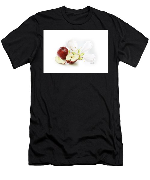 Apples And Blossom Men's T-Shirt (Athletic Fit)