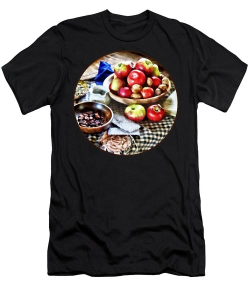 Apples And Nuts Men's T-Shirt (Athletic Fit)