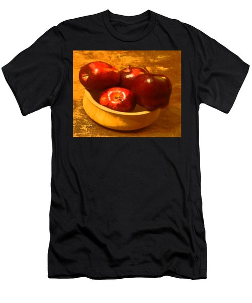 Apples In A Bowl Men's T-Shirt (Athletic Fit)