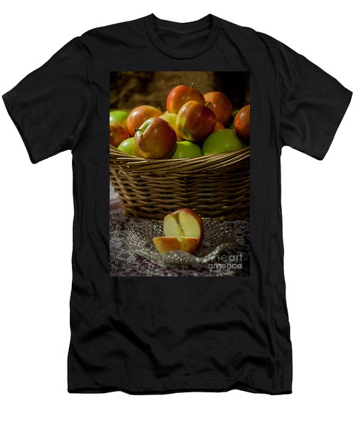 Apples To Share Men's T-Shirt (Athletic Fit)