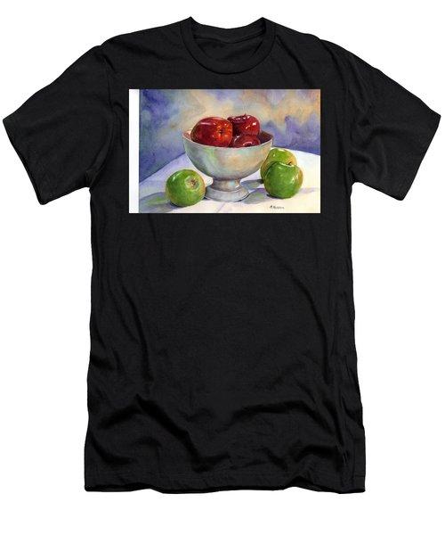 Apples - Yum Men's T-Shirt (Athletic Fit)