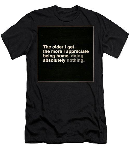 Appreciating Aging Men's T-Shirt (Athletic Fit)