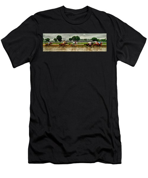 Approaching The Far Turn Men's T-Shirt (Athletic Fit)