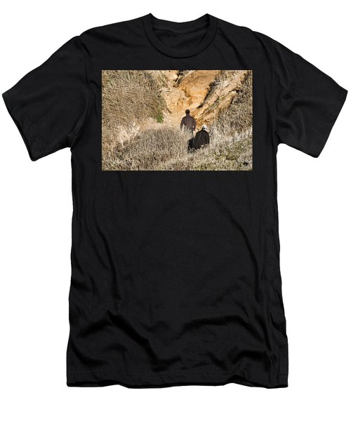 Approaching The Incline Men's T-Shirt (Athletic Fit)