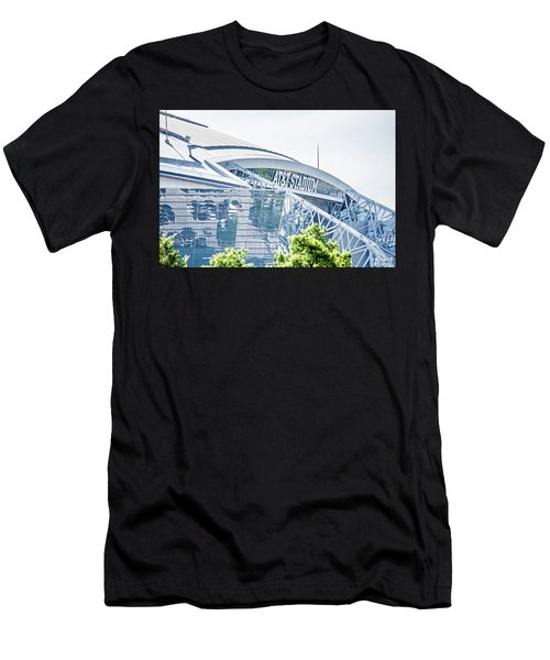April 2017 Arlington Texas Att Nfl Cowboys Football Stadium  Men's T-Shirt (Athletic Fit)