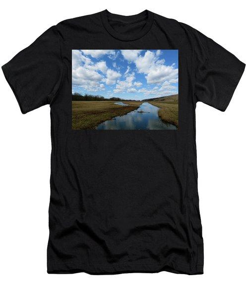 April Day Men's T-Shirt (Athletic Fit)
