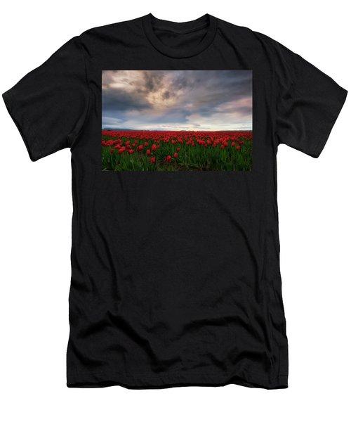 April Showers Men's T-Shirt (Slim Fit) by Ryan Manuel