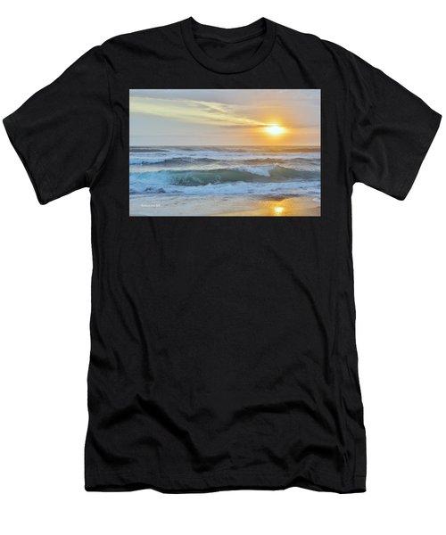 April Sunrise  Men's T-Shirt (Athletic Fit)