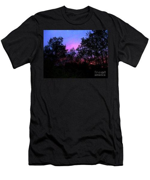 April Sunset Men's T-Shirt (Athletic Fit)