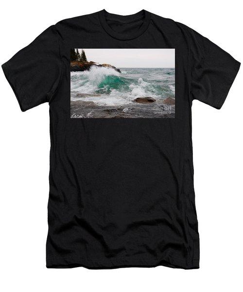 April Waves On Superior Men's T-Shirt (Athletic Fit)