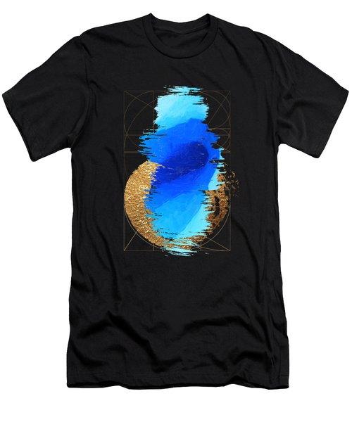 Aqua Gold No. 2 Men's T-Shirt (Athletic Fit)