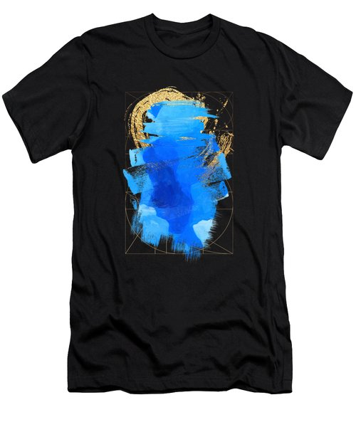Aqua Gold No. 3 Men's T-Shirt (Slim Fit) by Serge Averbukh