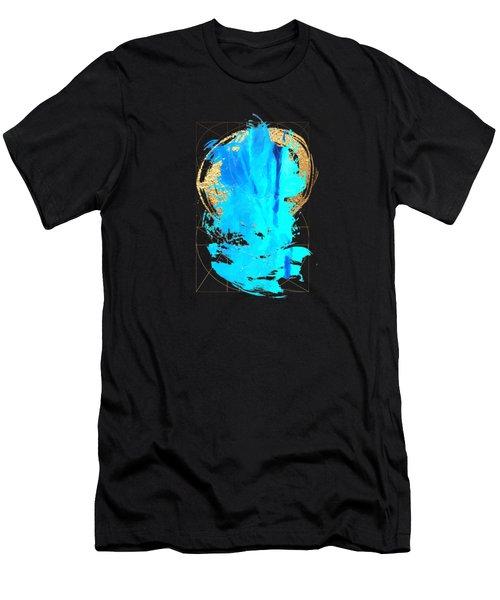 Aqua Gold No. 4 Men's T-Shirt (Athletic Fit)