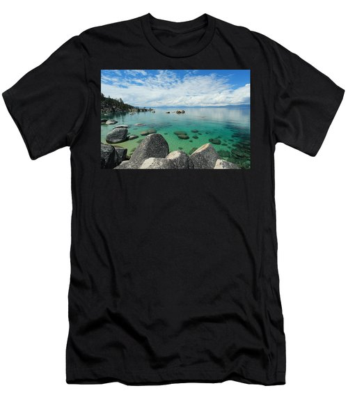 Men's T-Shirt (Athletic Fit) featuring the photograph Aqua Heaven by Sean Sarsfield