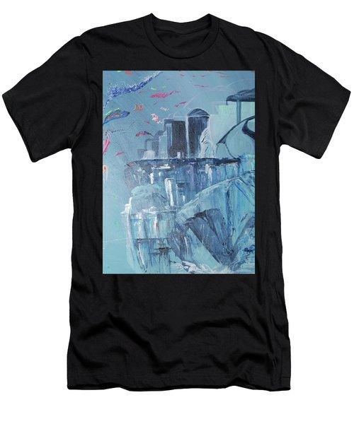 Aqua Resort Men's T-Shirt (Athletic Fit)