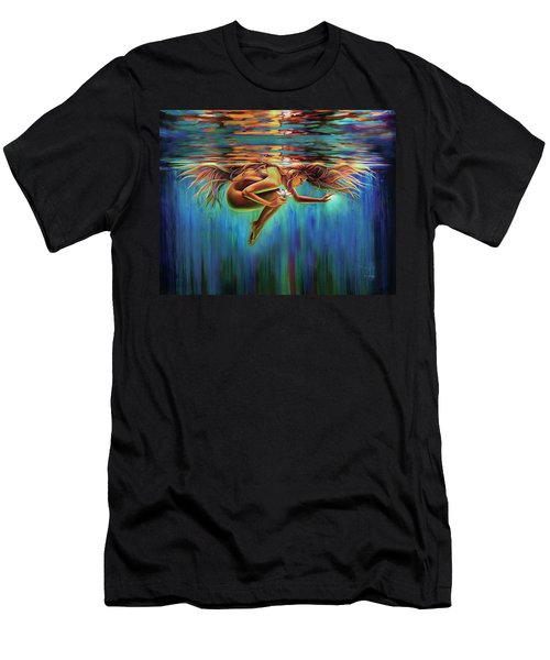 Aquarian Rebirth II Divine Feminine Consciousness Awakening Men's T-Shirt (Athletic Fit)