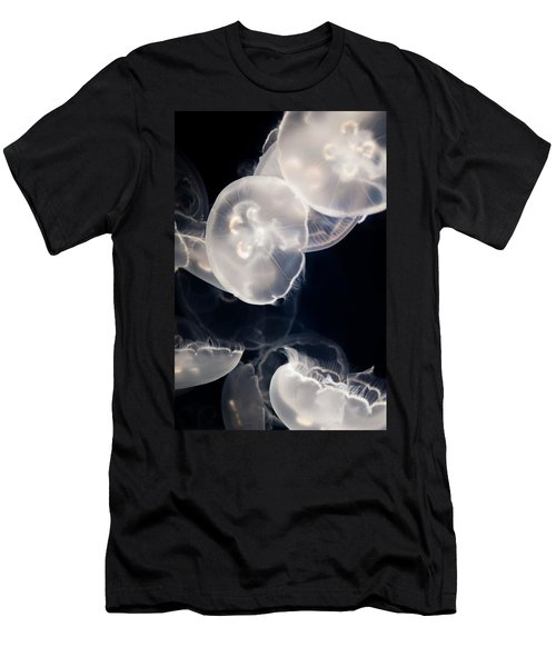 Aquarium Of The Pacific Jumping Jellies Men's T-Shirt (Athletic Fit)