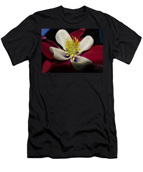 Aquilegia  Columbine Men's T-Shirt (Athletic Fit)