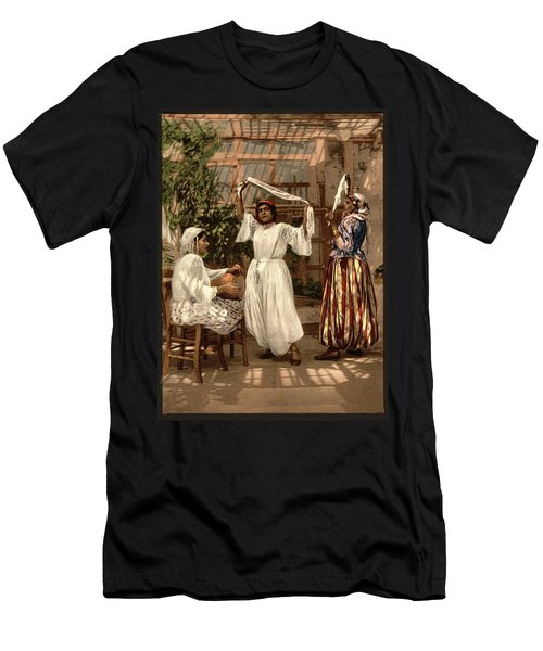 Arab Dancing Girls - Remastered Men's T-Shirt (Athletic Fit)