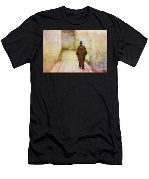Arab Man Walking - Morocco 2 Men's T-Shirt (Athletic Fit)