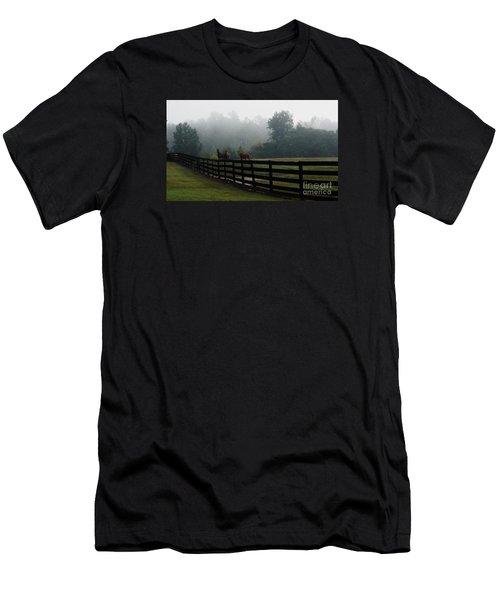 Arabian Horse Landscape Men's T-Shirt (Athletic Fit)