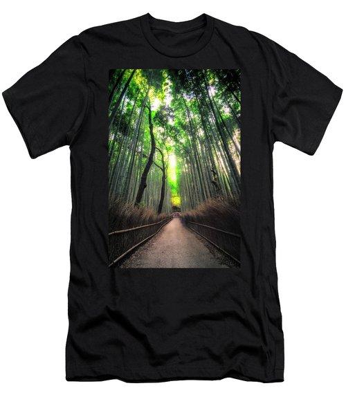 Arashiyama In Kyoto, Japan Men's T-Shirt (Athletic Fit)