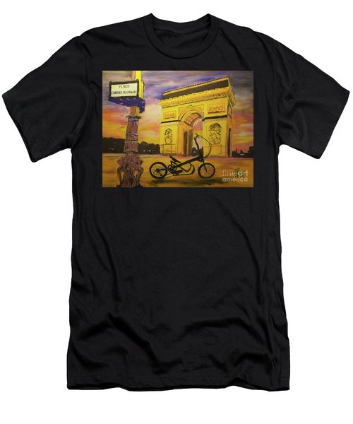 Arc De Triomphe Men's T-Shirt (Athletic Fit)