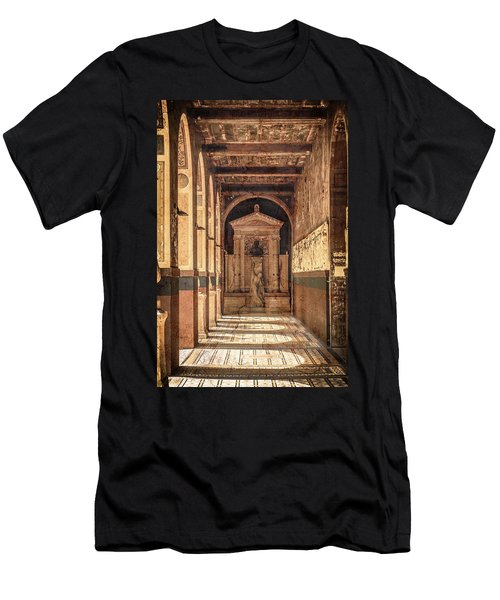 Paris, France - Arcade - L'ecole Des Beaux-arts  Men's T-Shirt (Athletic Fit)