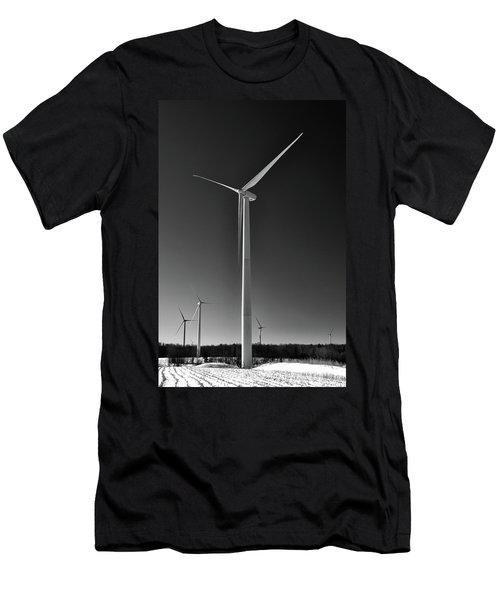 Arcade Wind Turbines 6557 Men's T-Shirt (Athletic Fit)
