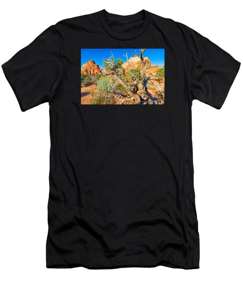 Men's T-Shirt (Athletic Fit) featuring the photograph Arch by Daniel George