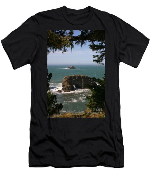 Arch Rock View Men's T-Shirt (Athletic Fit)