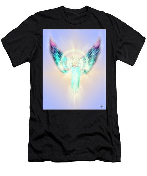 Archangel Uriel - Pastel Men's T-Shirt (Athletic Fit)