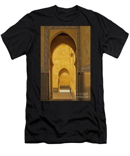 Arched Doors Men's T-Shirt (Athletic Fit)