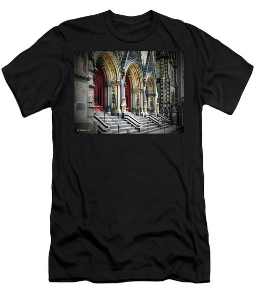 Arched Doorways Men's T-Shirt (Slim Fit) by Brian Wallace