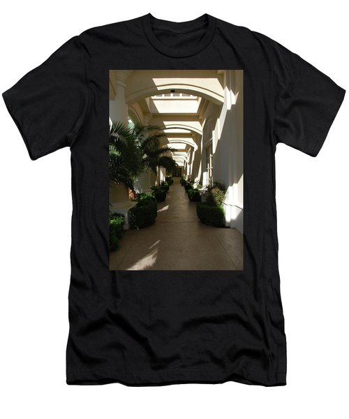 Men's T-Shirt (Athletic Fit) featuring the photograph Arches by John Schneider