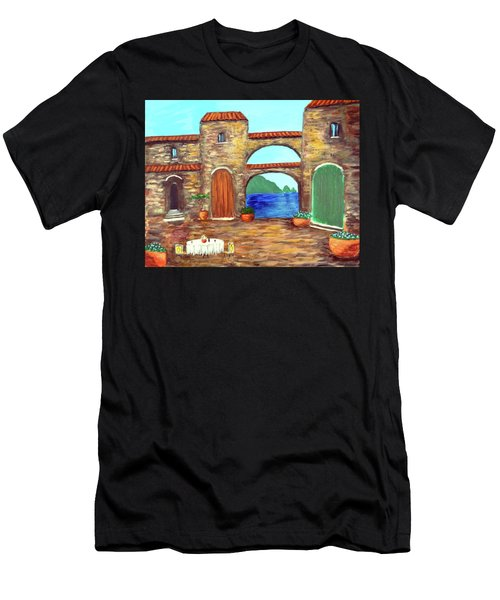 Arches Of Amalfi  Men's T-Shirt (Athletic Fit)