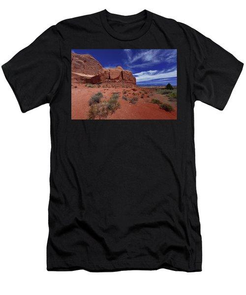 Arches Scene1 Men's T-Shirt (Athletic Fit)