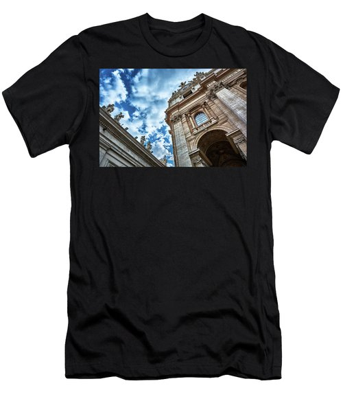 Architectural Majesty On Top Of The Sky Men's T-Shirt (Athletic Fit)
