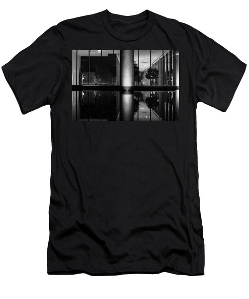 Architectural Reflecting Pool Men's T-Shirt (Athletic Fit)