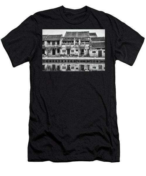 Architecture Ancient Hoi An  Men's T-Shirt (Athletic Fit)