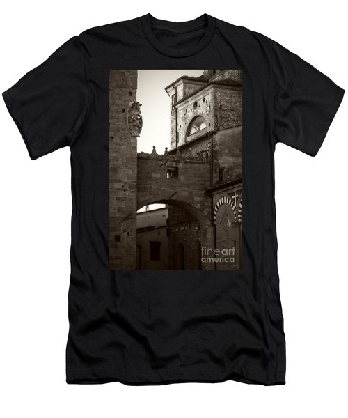 Architecture Of Pistoia Men's T-Shirt (Athletic Fit)